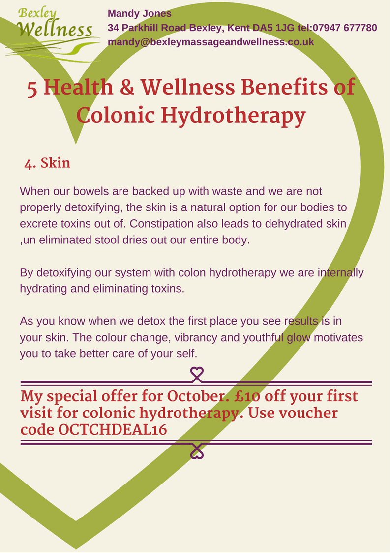 Colonic Hydrotherapy Benefits - Skin