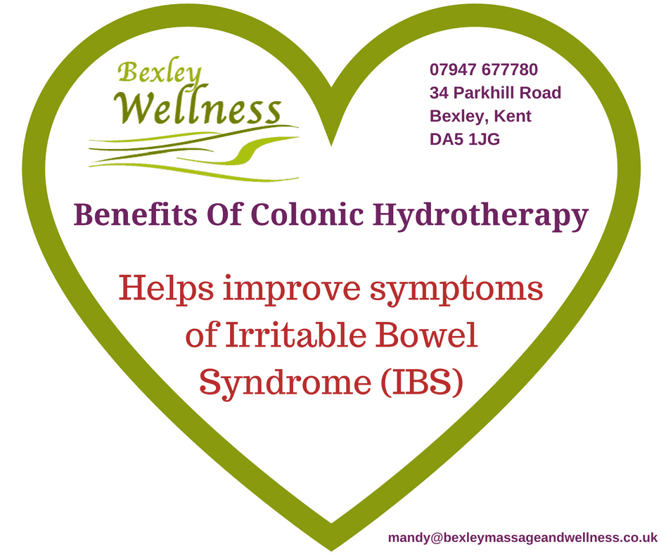 Benefits of Colonic Hydrotherapy - Irritable Bowel Syndrome (IBS)