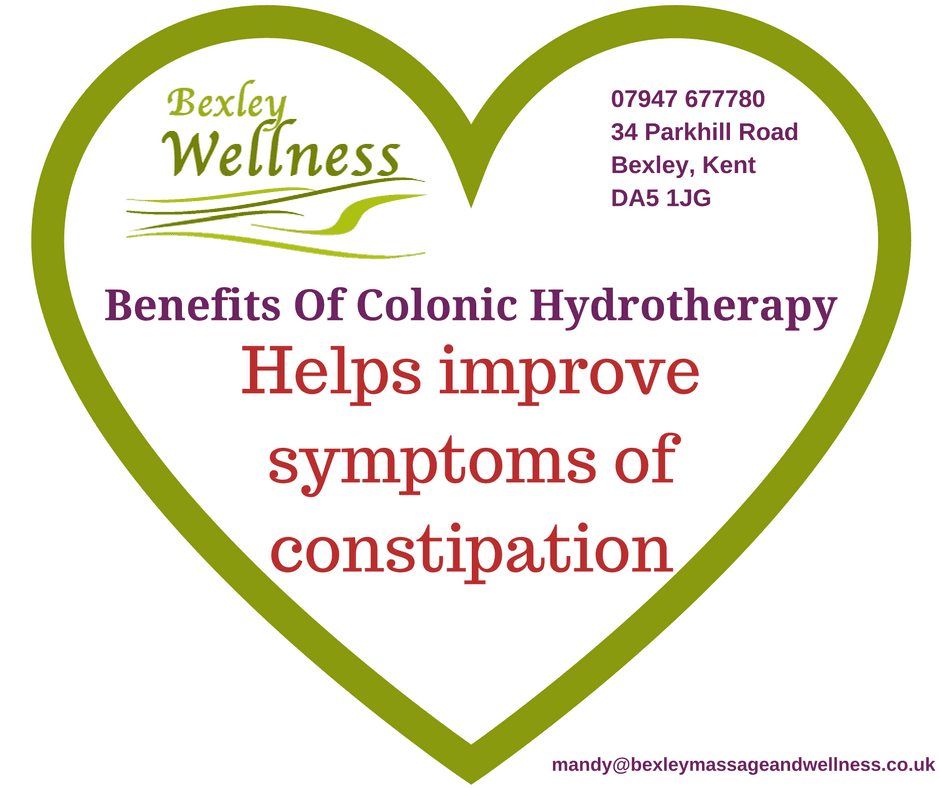 Benefits of Colonic Hydrotherapy - constipation